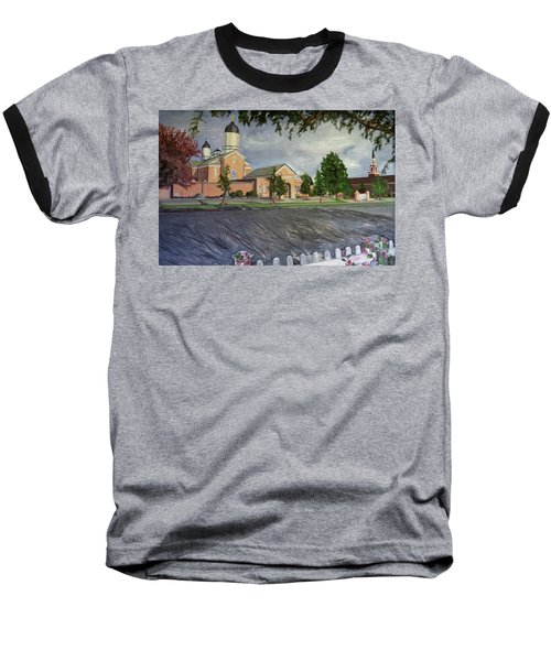 Thank Thee For The Church And The Temple  Vernal Utah Temple Baseball T-Shirt