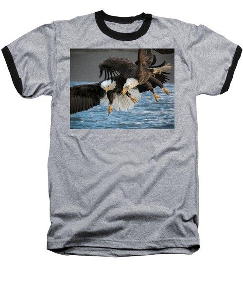 The Aerial Joust Baseball T-Shirt