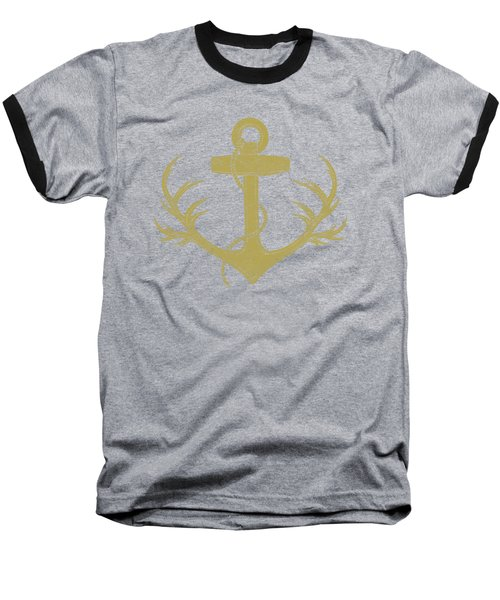 The Antlered Ship Baseball T-Shirt