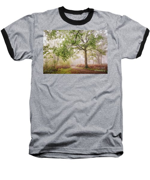 The Autumn Path Baseball T-Shirt