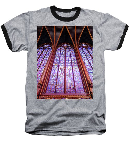 The Awe Of Sainte Chappelle Baseball T-Shirt