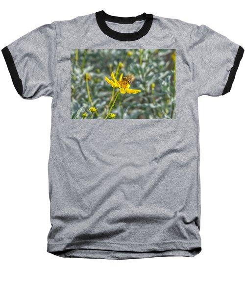 The Bee The Flower Baseball T-Shirt