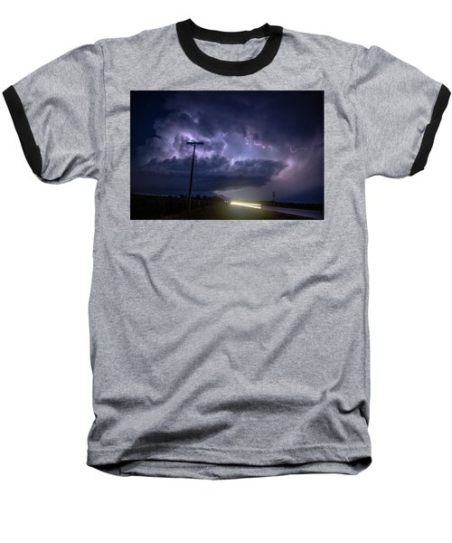 The Best Supercell Of The Summer 043 Baseball T-Shirt
