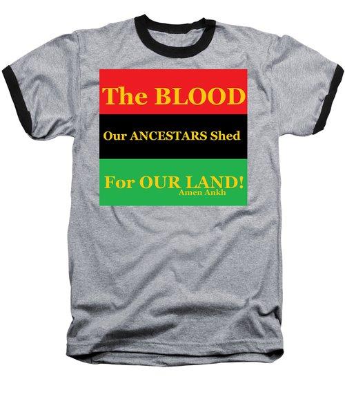The Blood Baseball T-Shirt