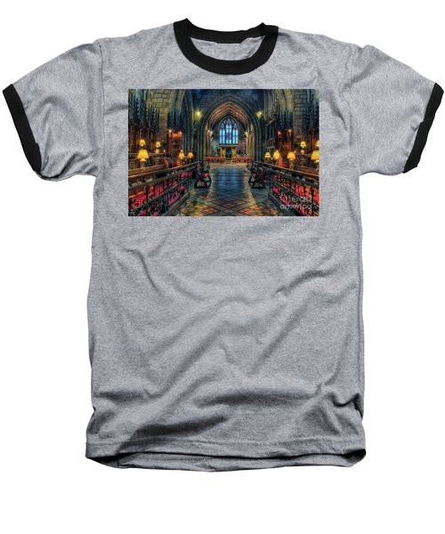 The Cathedral Church Of Saints Asaph And Cyndeym Baseball T-Shirt