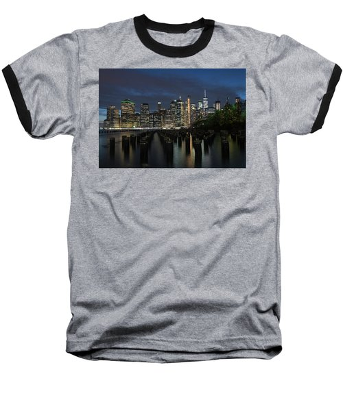 The City Alight Baseball T-Shirt