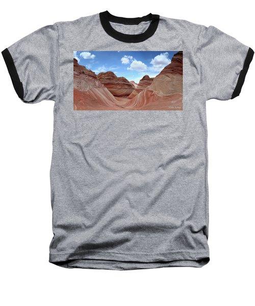 The Classic Wave Baseball T-Shirt
