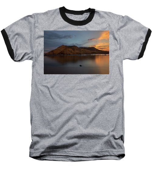 The Closed Cove In Aguilas At Sunset, Murcia Baseball T-Shirt
