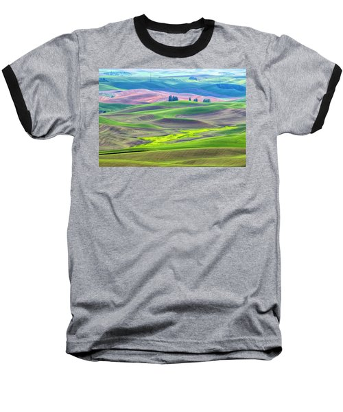 The Color Palette Of The Palouse Baseball T-Shirt