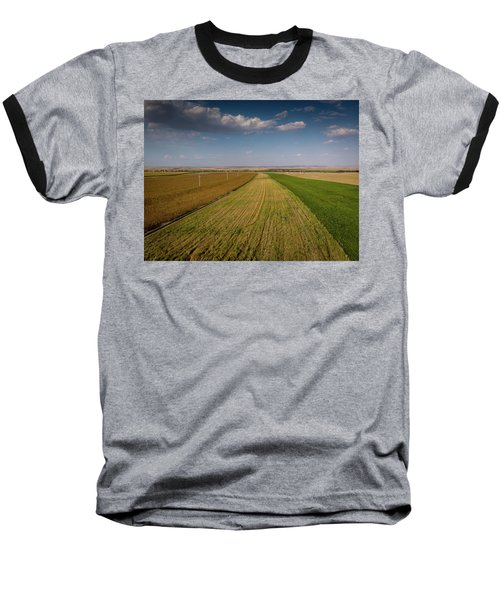 The Colored Fields Baseball T-Shirt
