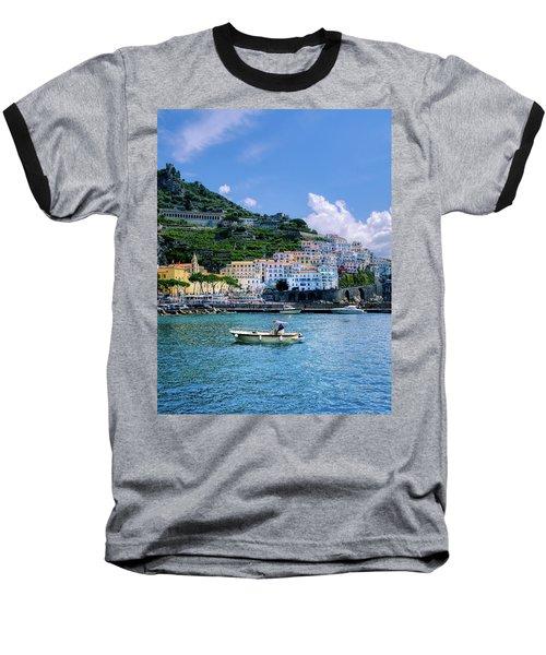 The Colorful Amalfi Coast  Baseball T-Shirt