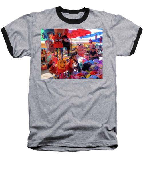 The Colours Of Childhood Baseball T-Shirt