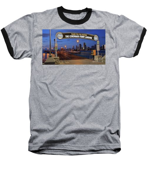 The Coronado Ferry Landing Baseball T-Shirt