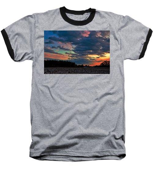 The Cotton Field  Baseball T-Shirt