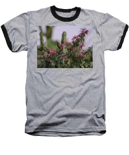 Baseball T-Shirt featuring the photograph The Delicate Side Of The Desert by Margaret Pitcher