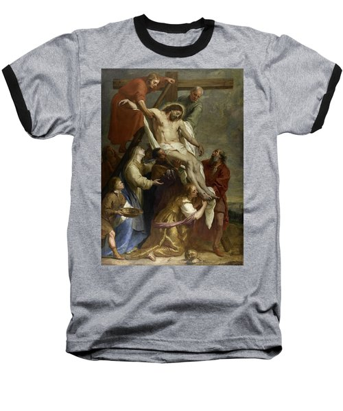 The Descent From The Cross Baseball T-Shirt