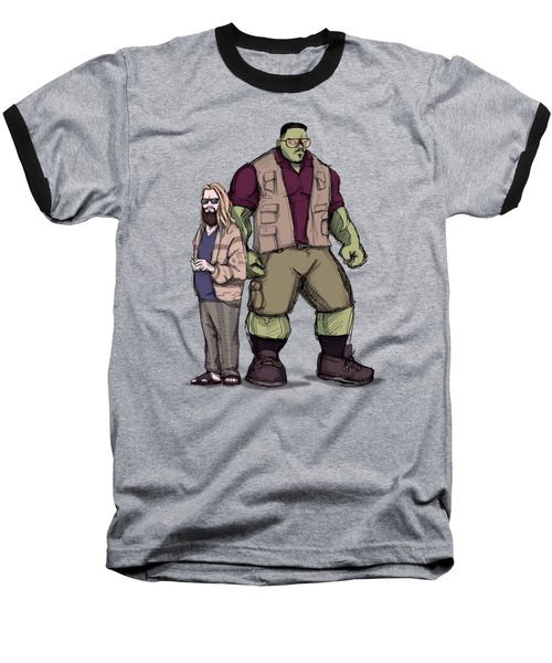 The Dude Of Thunder Baseball T-Shirt
