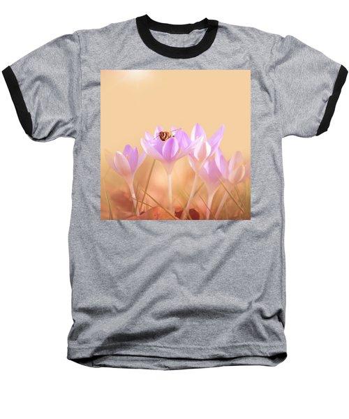 The Earth Blooms Baseball T-Shirt