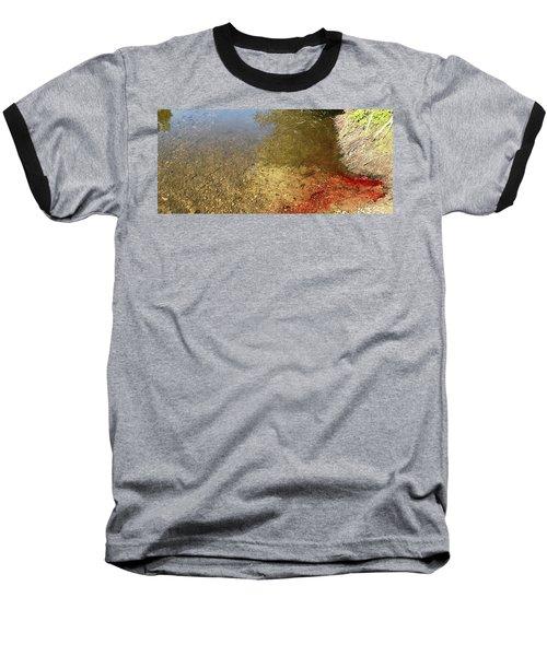 The Earth Is Bleeding Baseball T-Shirt