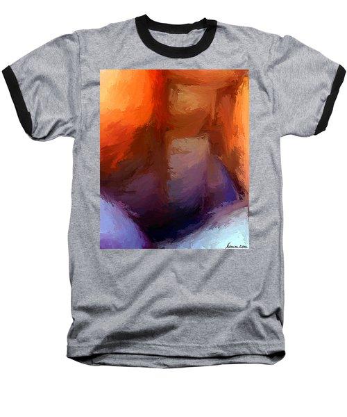 The Edge Of Darkness Baseball T-Shirt