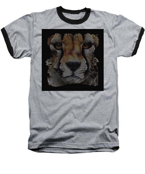 The Face Of A Cheetah Baseball T-Shirt