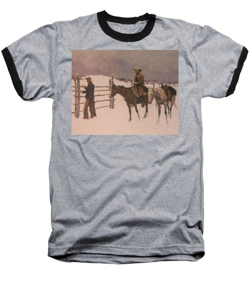 The Fall Of The Cowboy Baseball T-Shirt