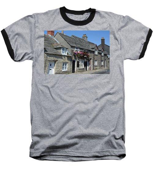 The Fox Inn At Corfe Castle Baseball T-Shirt