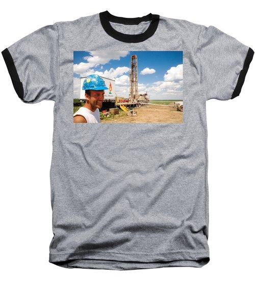 The Gas Man Baseball T-Shirt