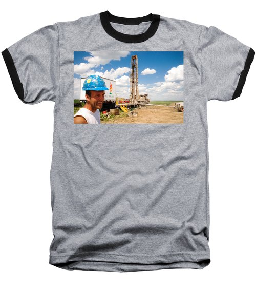 The Gas Man Baseball T-Shirt
