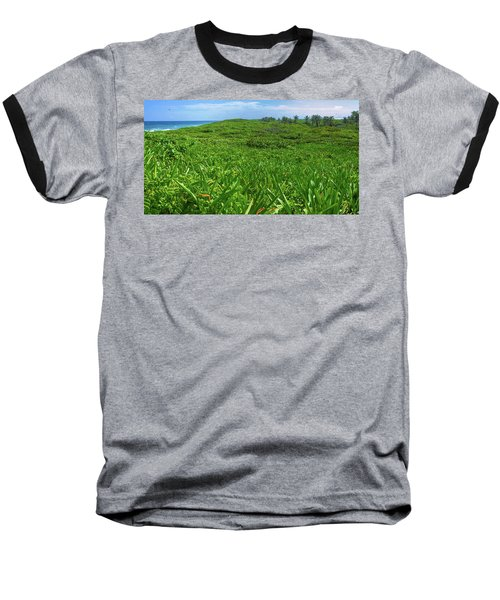 The Green Island Baseball T-Shirt