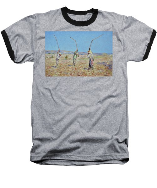 The Haymakers - Pierre Van Dijk 70x90cm Oil Baseball T-Shirt