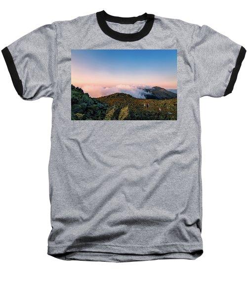 The Hiker - Mt Jefferson, Nh Baseball T-Shirt