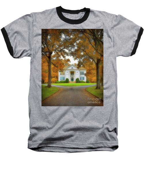 The Hoge Building At Berry College Baseball T-Shirt