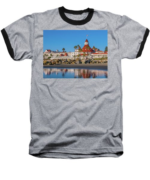 The Hotel Del Coronado San Diego Baseball T-Shirt