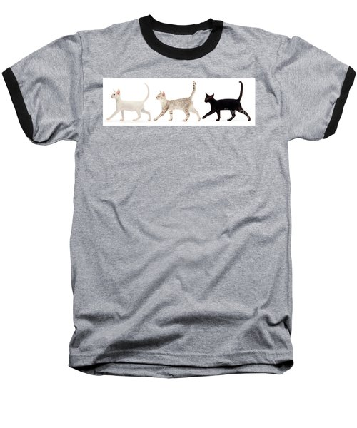 The Kits Parade - Three Baseball T-Shirt