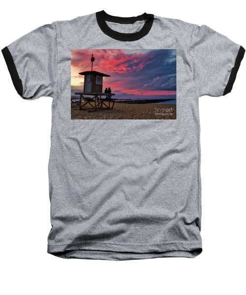 The Last Sunrise Of 2018 At The Wedge Baseball T-Shirt