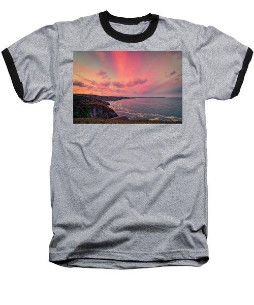 The Lizard Point Sunset Baseball T-Shirt