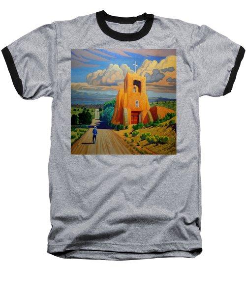The Long Road To Santa Fe Baseball T-Shirt