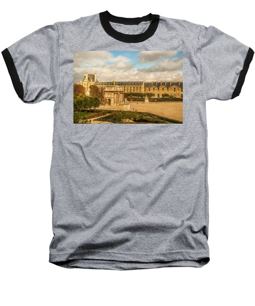 The Louvre Baseball T-Shirt