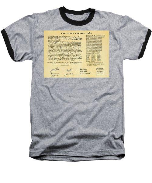 The Mayflower Compact  Baseball T-Shirt