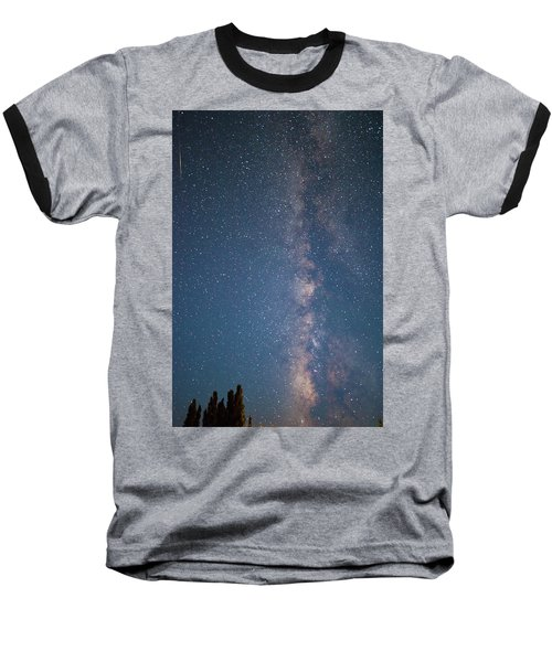 The Milky Way In Arizona Baseball T-Shirt