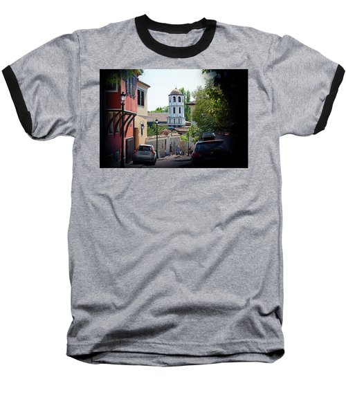 Baseball T-Shirt featuring the photograph The Old Town by Milena Ilieva