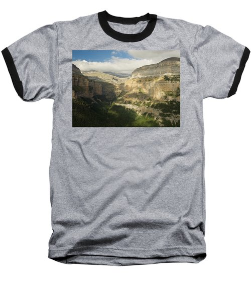 The Ordesa Valley Baseball T-Shirt