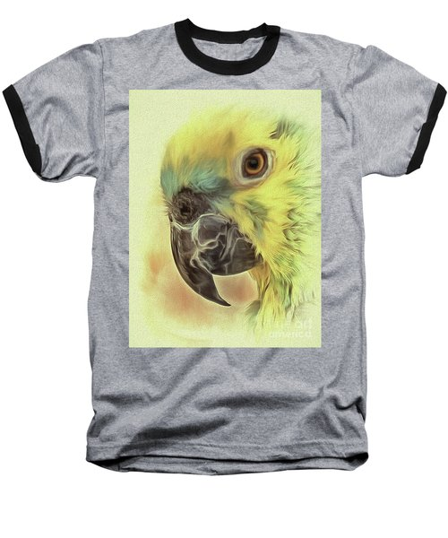Baseball T-Shirt featuring the photograph The Parrot Sketch by Leigh Kemp