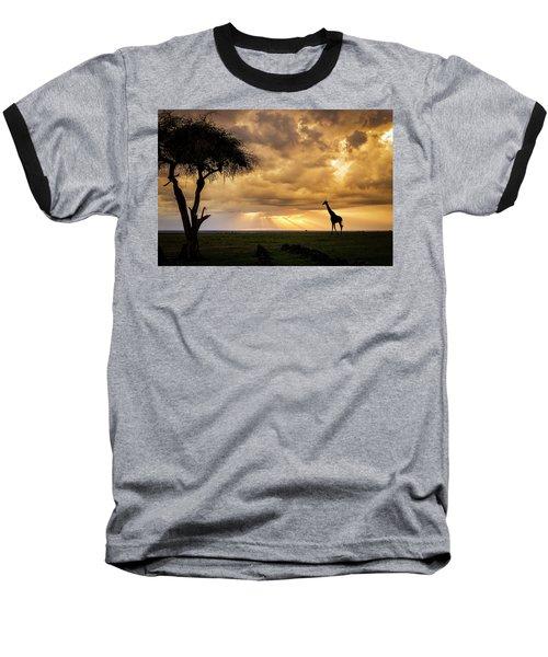 The Plains Of Africa Baseball T-Shirt
