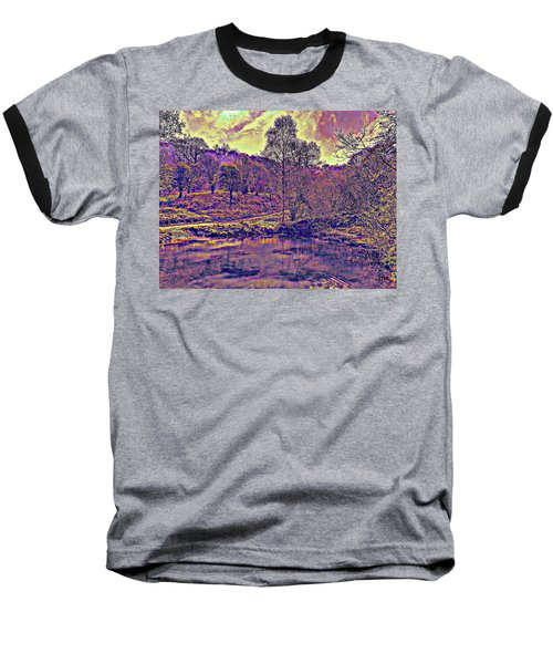 The  Pond  At  Twilight Baseball T-Shirt