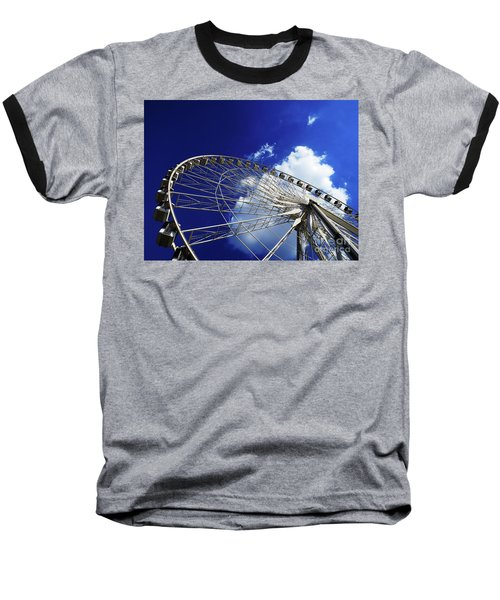 The Ride To Acrophobia Baseball T-Shirt