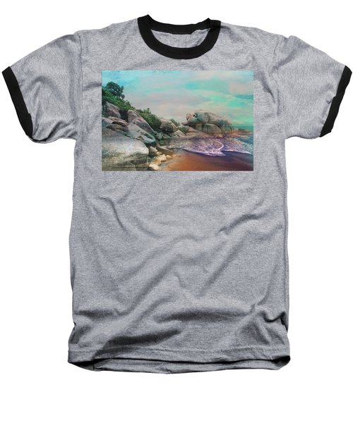 The Rising Tide Montage Baseball T-Shirt