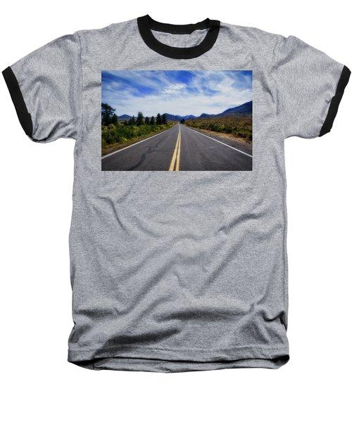 The Road Best Traveled Baseball T-Shirt