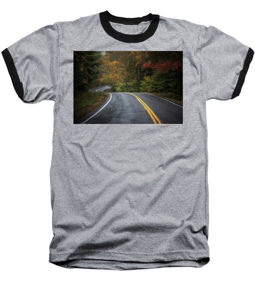 The Road To Friends Lake Baseball T-Shirt